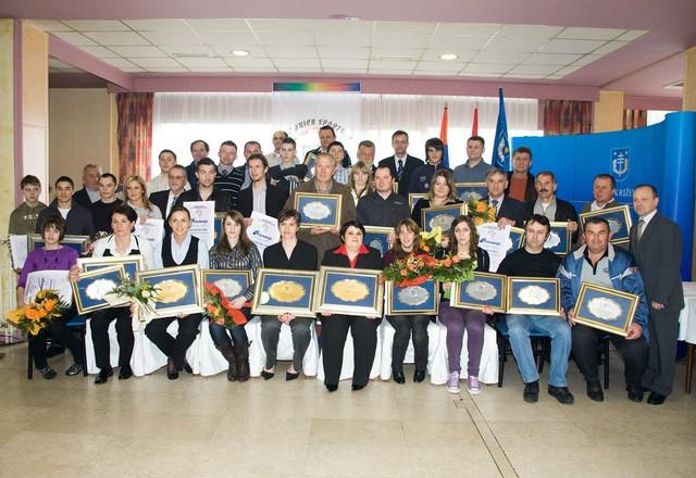 Proglašenje najboljih sportašica, sportaša i sportskih klubova Koprivničko-križevačke županije u 2008. godini