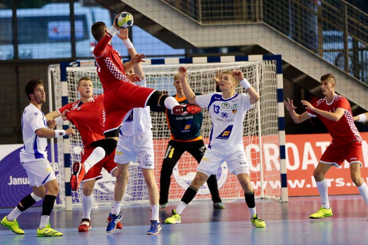 M18 Euro 2016 EHF | Zajednica sportova Koprivničko križevačke zajednice | Hrvatska : Island