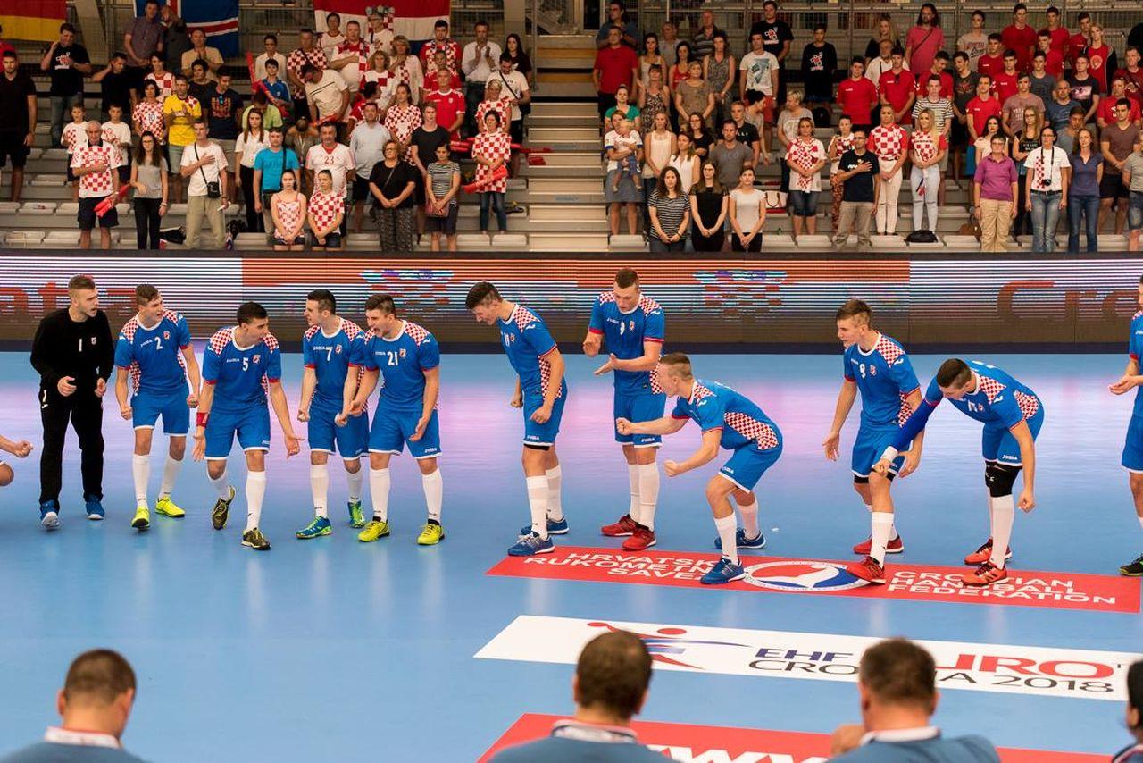 M18 Euro 2016 EHF   Zajednica sportova Koprivničko križevačke zajednice   Hrvatska : Njemačka
