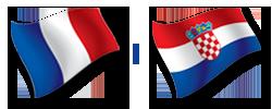 M18 Euro 2016 EHF | Zajednica sportova Koprivničko križevačke zajednice | Francuska : Hrvatska