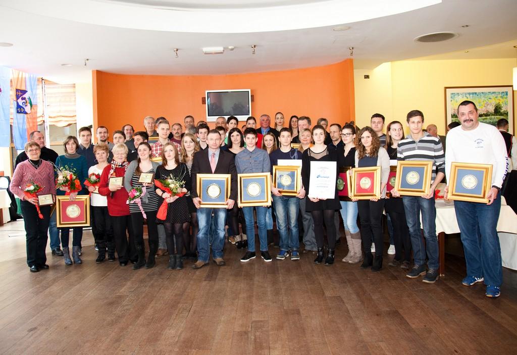 Proglašenje najuspješnijih sportašica, sportaša i sportskih ekipa Koprivničko-križevačke županije u 2013. godini