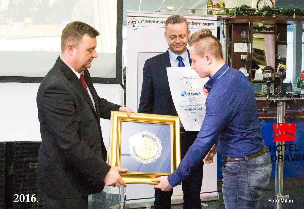 Proglašene najuspješnije sportašice, sportaši i sportske ekipe u Koprivničko-križevačkoj županiji za 2015. godinu