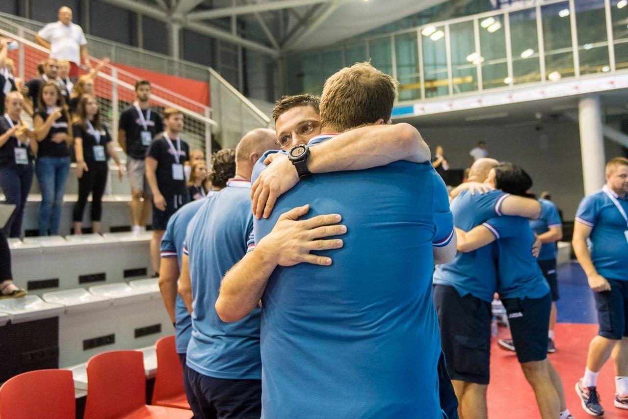M18 Euro 2016 EHF | Zajednica sportova Koprivničko križevačke zajednice | Hrvatska : Njemačka