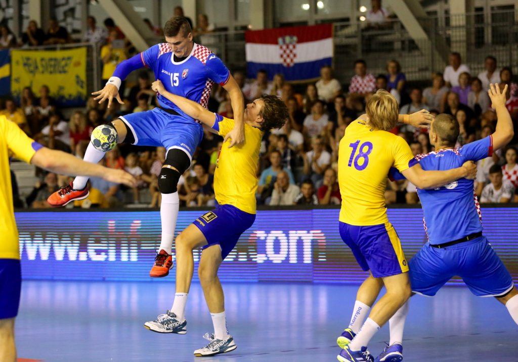 M18 Euro 2016 EHF   Zajednica sportova Koprivničko križevačke zajednice   Hrvatska : Švedska