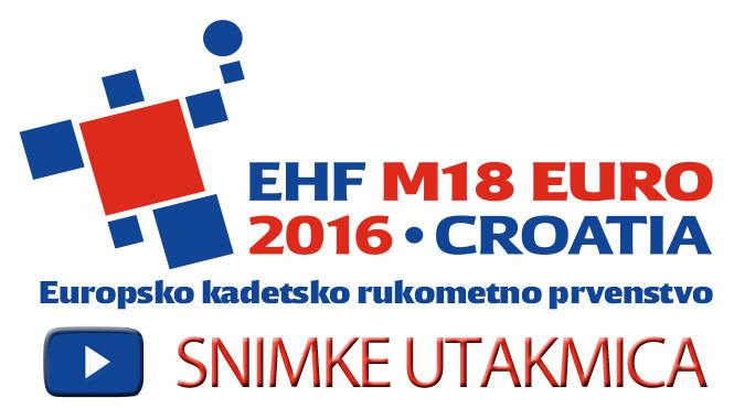 M18 Euro 2016 EHF | Zajednica sportova Koprivničko križevačke zajednice
