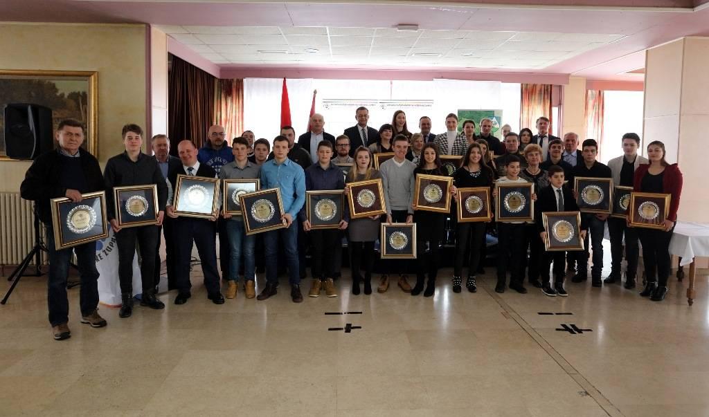 Proglašene najuspješnije sportašice, sportaši, sportske ekipe i sportski djelatnici Koprivničko-križevačke županije u 2017. godini